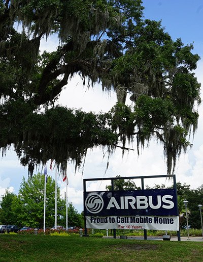 Airbus signage