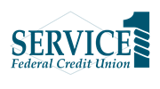 Service 1 Fed. Credit Union logo