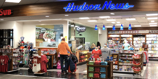 MRA Amenities include Hudson News Stand