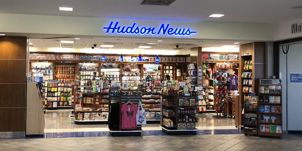 MRA Amenities include Hudson Newstand in the terminal