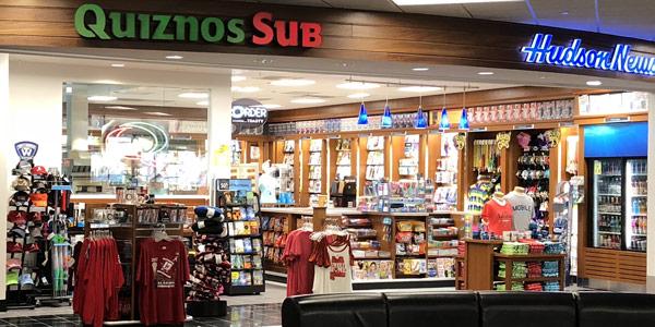 MRA Amenities include Quiznos Sub Shop