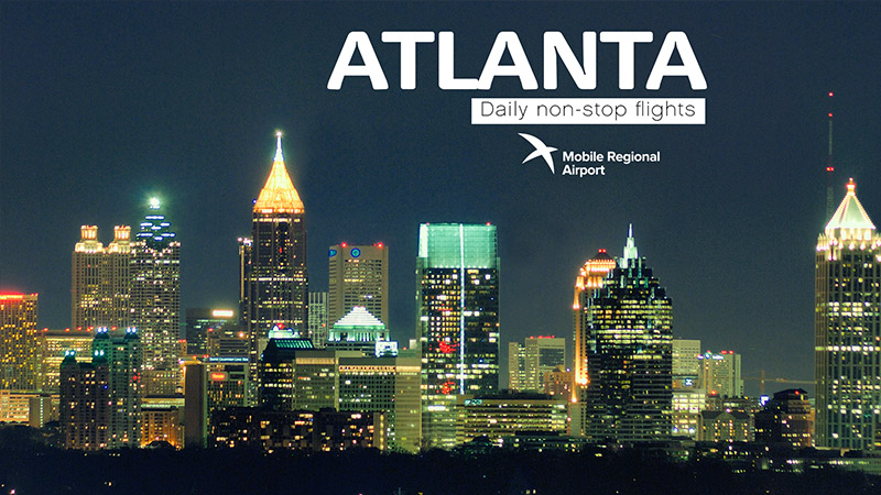 MRA destination - Atlanta, GA, Daily non-stop flights