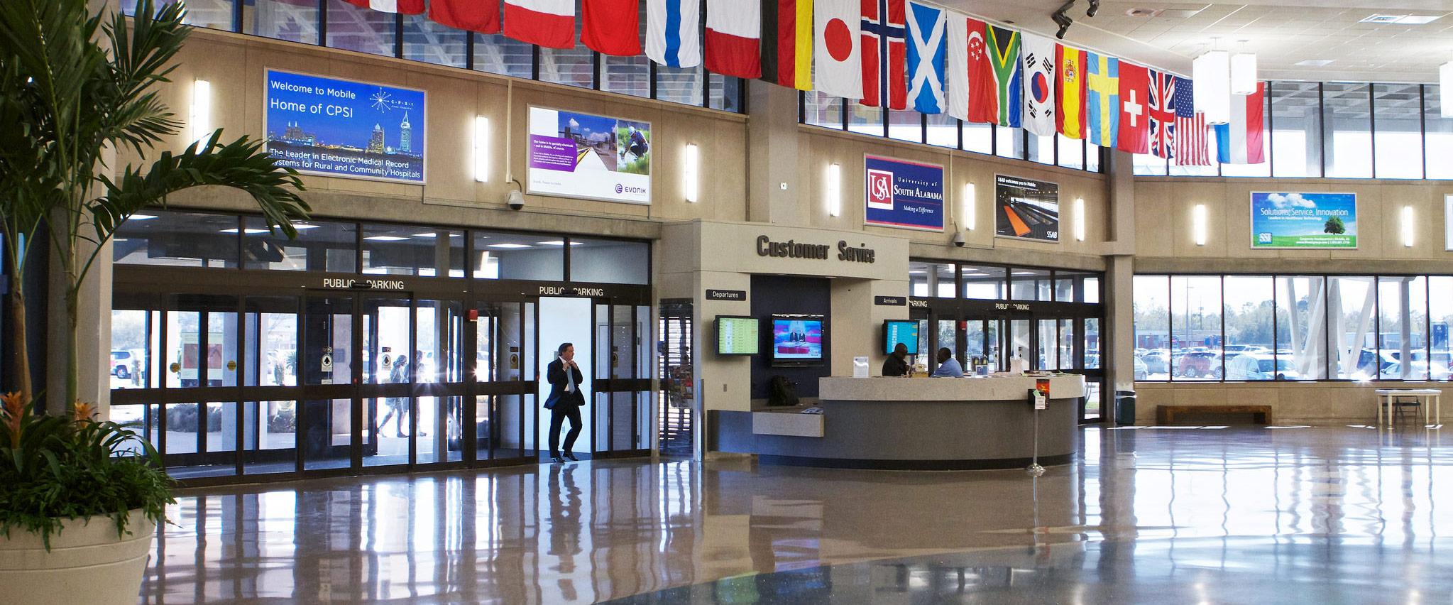 MRA entrance lobby