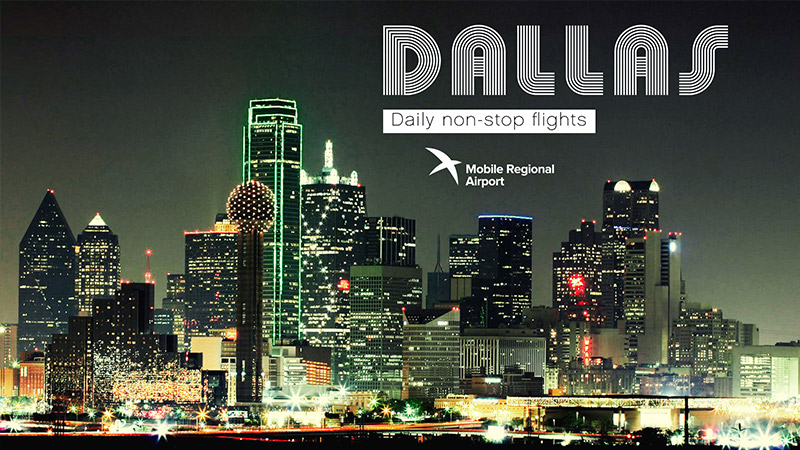 MRA destination - Dallas, TX, Daily non-stop flights