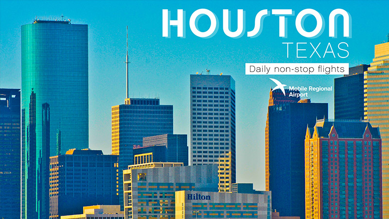 MRA destination - Houston, TX, Daily non-stop flights