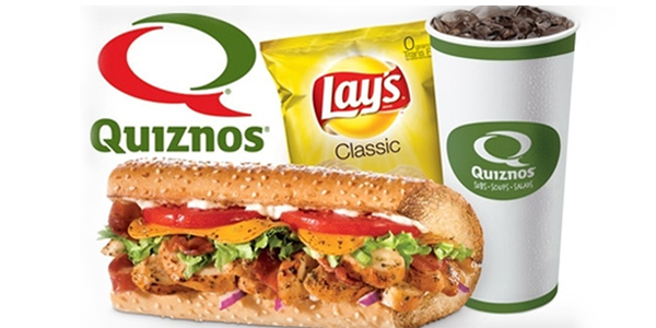 We have the only Quiznos in Mobile!